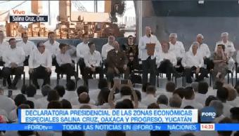 Zonas Económicas Especiales Salina Cruz Progreso Enorme Potencial Shcp