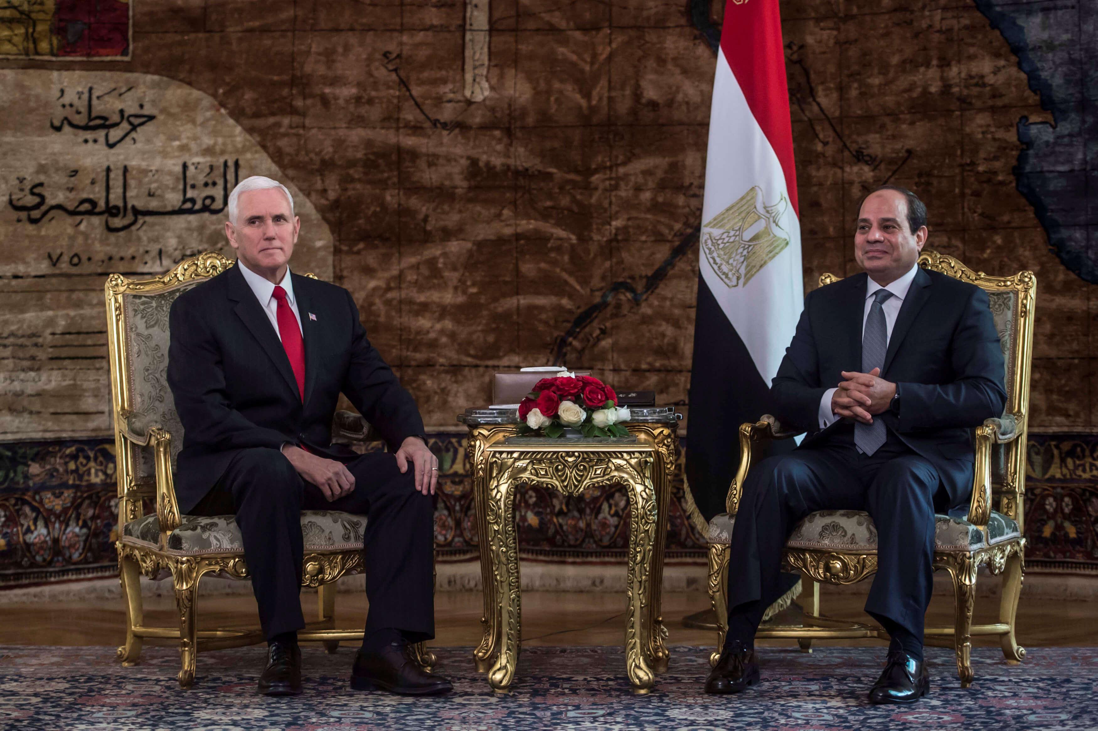 Gira de Pence en Oriente Medio está bajo tensión