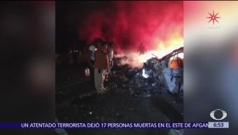 Mueren 10 personas en accidente carretero en Guerrero