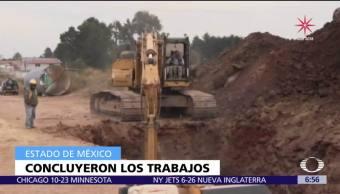 Se reanuda el abasto de agua en once municipios del Edomex