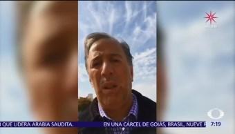 José Antonio Meade tiene actividades privadas