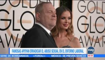 Famosas de Hollywood crean fondo para defender a mujeres