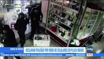 Separan de sus funciones 7 policías por robo de celulares Meave