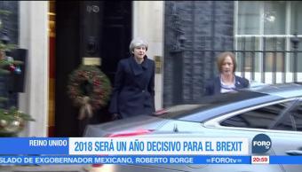 2018, un año decisivo para el Brexit
