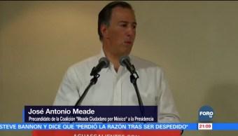 Meade, por propuestas que generan estabilidad