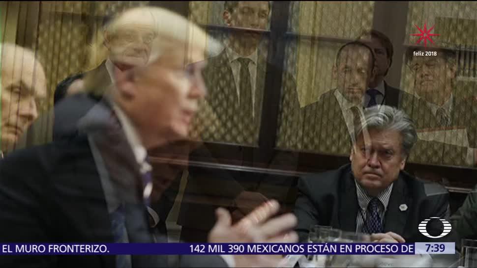 Trump había prometido que no ganaría la elección, según el libro