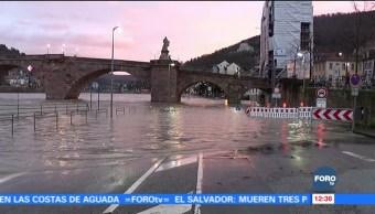 Lluvias por tormenta 'Eleanor' provocan inundaciones en Alemania
