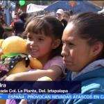 Niños damnificados por sismo del 19-S reciben regalos de los Reyes Magos