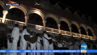 Yucatán celebra el aniversario de su capital Mérida