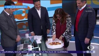 Ochoa Reza, Zepeda y Polevnsky parten Rosca de Reyes en Despierta