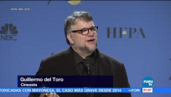Globos de Oro 2018, Guillermo del Toro recibió su primer Globo