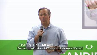 José Antonio Meade visita San Luis Potosí