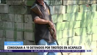 Trasladan a 19 hombres a Las Cruces tras enfrentamientos en Acapulco