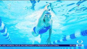 Vianney Trejo, multimedallista paralímpica de natación