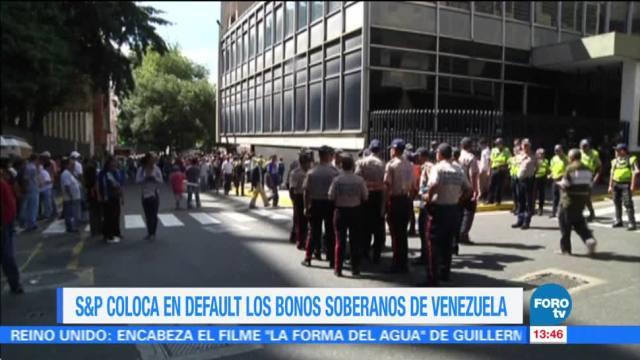 S&P Pone Bonos Venezuela Default