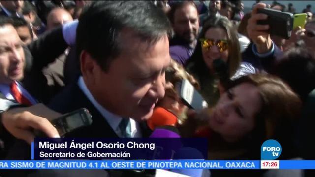 Chong Confirma Desmiente Salida Segob Miguel Ángel Osorio