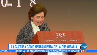 Cultura Herramienta Diplomacia Secretaria De Cultura María Cistina García