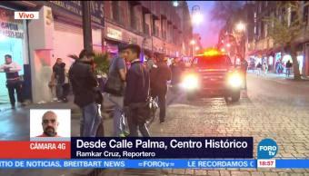 Desalojan Edificio Cdmx Conato Incendio