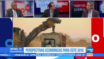 Perspectivas económicas para 2018; el análisis en Agenda Pública