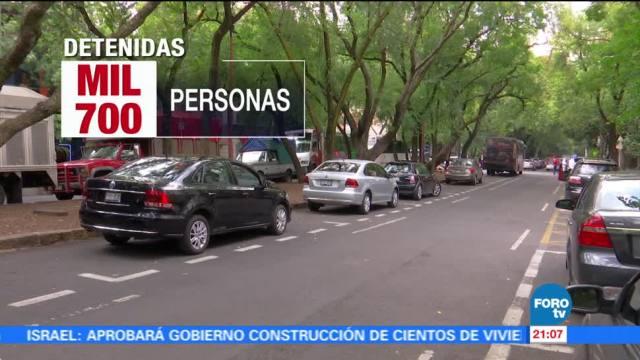 Robo de vehículos en la Ciudad de México