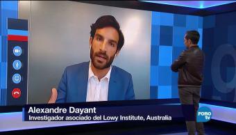 Genaro Lozano entrevisGenaro Lozano entrevista a Alexandre Dayantta a Alexandre Dayant