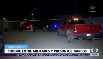 Soldados se enfrentan con presuntos criminales en Díaz Ordaz, Tamaulipas