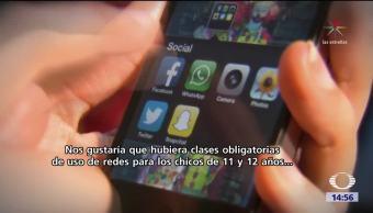 Redes sociales afectan a niños británicos