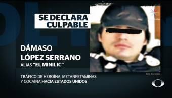 Dámaso López se declara culpable de narcotráfico en EU
