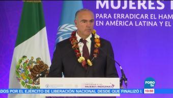 México ha dado muchos productos originarios al mundo: Calzada Rovirosa