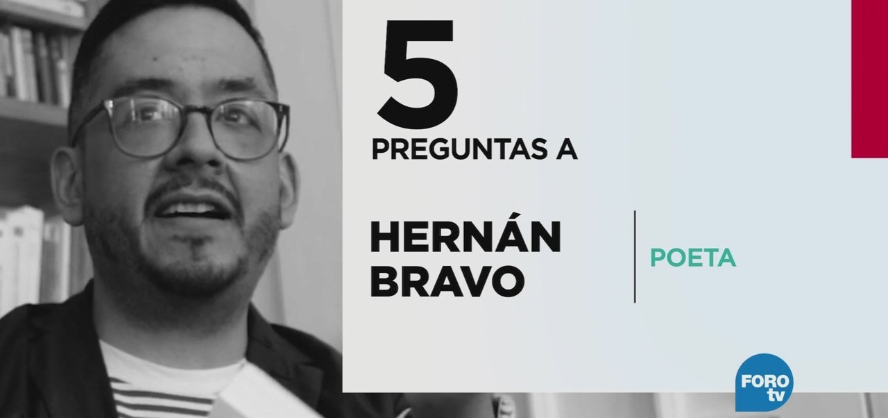 5 preguntas a Hernán Bravo Varela