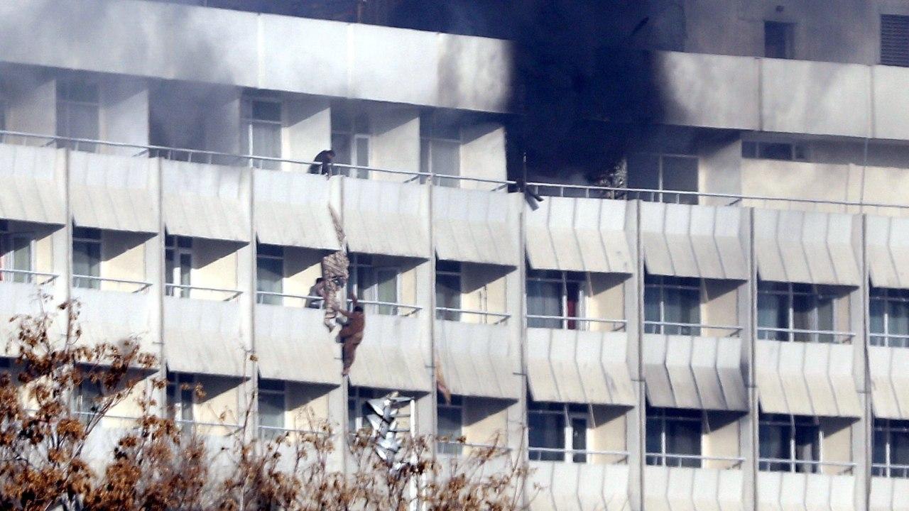 Ataque al Hotel Intercontinental de Kabul deja doce muertos