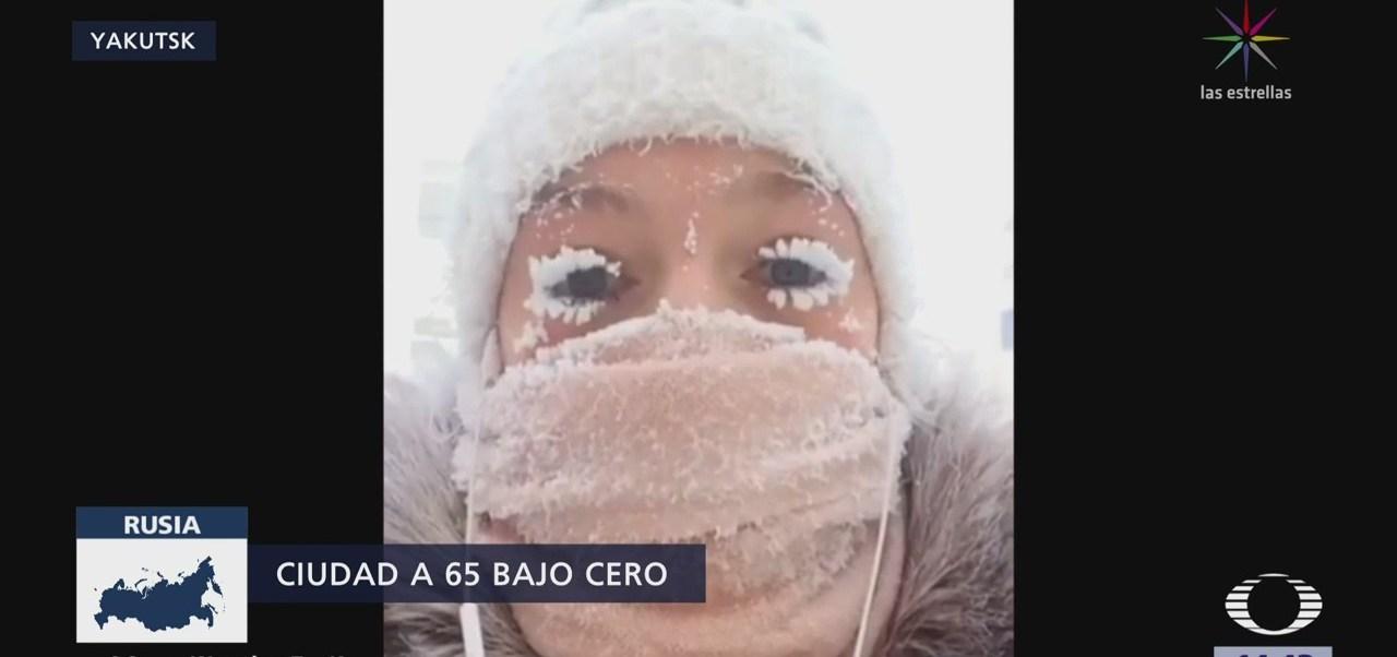 65 Grados Bajo Cero Rusia
