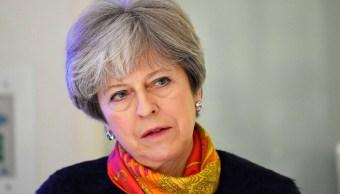 Primera ministra británica Theresa May anuncia cambios en su gabinete