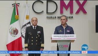 Abaten Sobrino El Ojos Tláhuac Miguel Ángel Mancera Ciudad De México