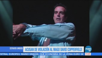 Acusan a David Copperfield de abuso sexual