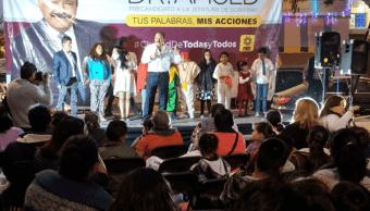 Armando Ahued visita la delegación Coyoacán