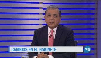 Ajustes en el gabinete de Peña Nieto