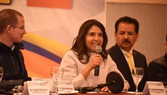alejandra barrales asiste plenaria senadores pan y prd