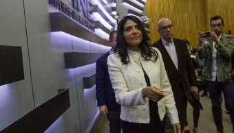 Estamos listos para la contienda, dice Alejandra Barrales