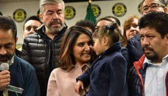 Soy más conocida precandidatos del PRD, Alejandra Barrales