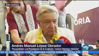 AMLO habla sobre la adhesión del nieto de Gordillo