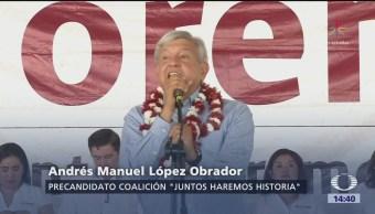AMLO propone construir línea de tren en el Istmo de Tehuantepec
