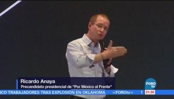 Anaya Reúne Estudiantes Jalisco Ricardo