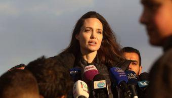 angelina jolie solucion siria jordania campo