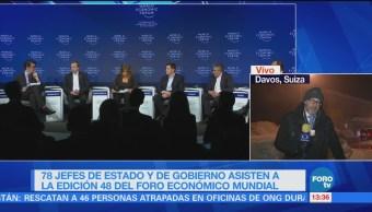 Anuncian en Davos iniciativa para acabar con la esclavitud moderna