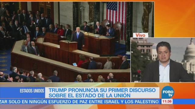 Ariel Moutsatsos analiza el primer discurso de Trump sobre el Estado de la Unión