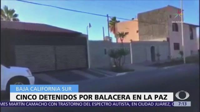 Atacan a policías ministeriales en La Paz, hay 5 detenidos