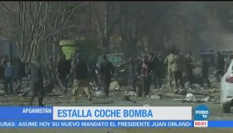 Ataque Coche Bomba Afganistán 40 Muertos