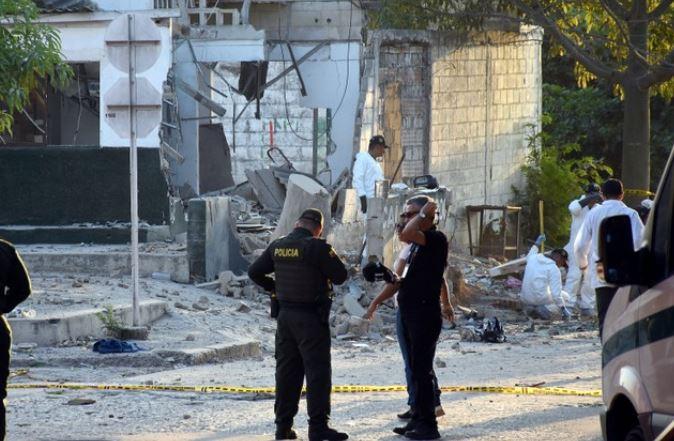 detienen a cuatro personas vinculadas con atentados contra policia en colombia