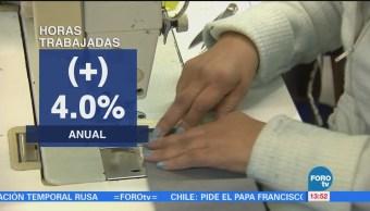 Aumenta personal ocupado en el sector manufacturero: INEGI